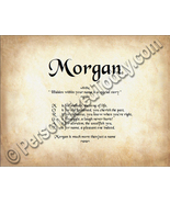 Morgan Hidden Within Your Name Is A Special Sto... - $8.95