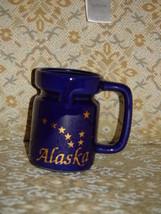 """Alaska USA Blue Coffee Cup 4 1/2"""" Tall - $12.78"""