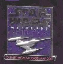 Disney MGM Star Wars Weekend naboo starfighter no backer card Pin - $28.87