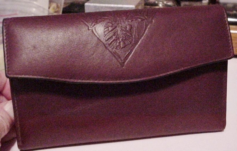 c3e1150ffd27 HTF Leather Burgundy Princess Gardner Wallet and 50 similar items