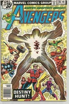 AVENGERS #176 Marvel Comics 1978 Vision Thor Iron Man Scarlet Witch 1978 - $15.44