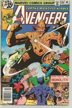 AVENGERS #180 Marvel Comics 1978 Vision Thor Beast...MONOLITH - $13.00
