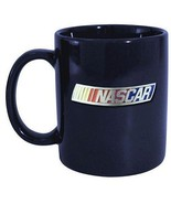 Nascar Blue Ceramic Coffee Mug 11oz z Nascar Licensed with Pewter Logo - $12.82