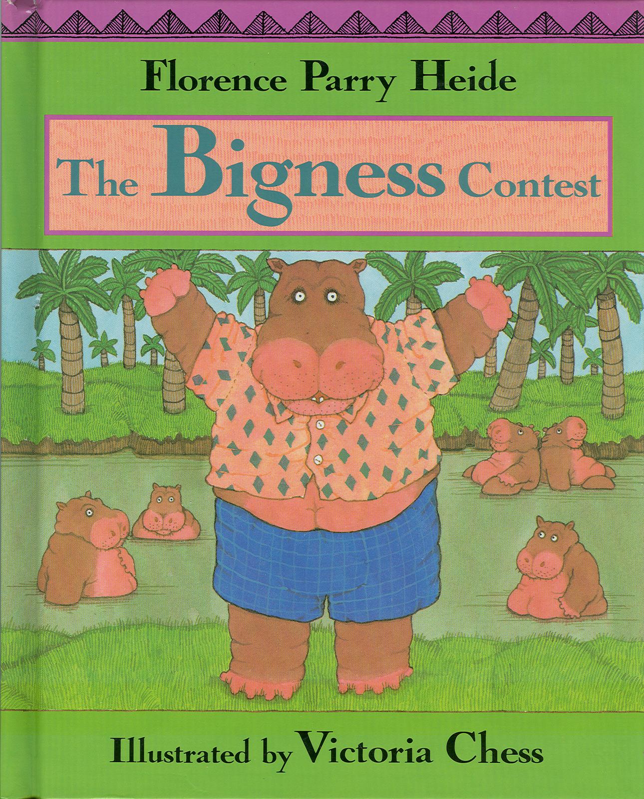 The Bigness Contest-Florence Heide;Individuality;Hippopotamus;ACHIEVE SELF-ESTEE