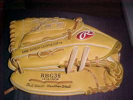 """Rawlings Glove Mitt """"Derek Jeter"""" RBG36 Left Hand 12 1/2"""" New - $37.99"""