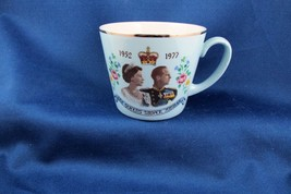 The Queen's Silver Jubilee 1952-1977 Blue Cup, Nice & Scarce - £4.83 GBP