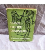 1950 Studies In Figure Drawing ARTHUR ZAIDENBERG Sketches Hard Cover wit... - $17.72