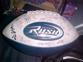 2002 Chicago Rush Central Division Champions Au... - $27.99