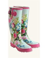 Floral Wellies Boots  - $79.99