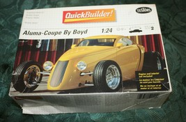 Testors 1:24 Model Car Kit Aluma-Coupe By Boyd #5202 Unbuilt Mint in Box - $24.74