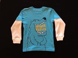 Carter's long sleeve t-shirt boys size 4 - $5.00