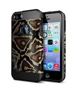 Serpentine Pattern Shockproof Protective Case for Iphone 5 5s - $21.99