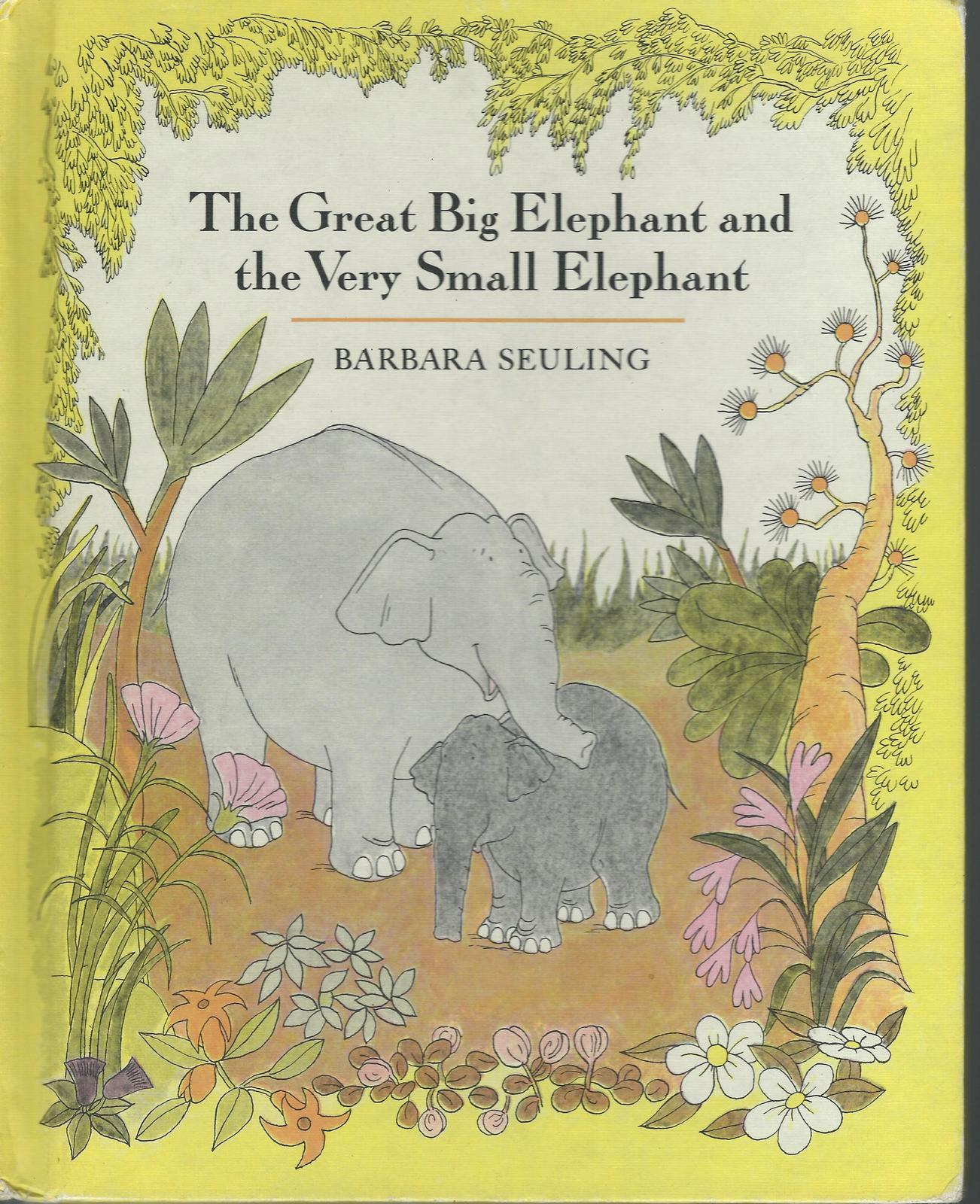 The great big elephant and the very small elephant 001