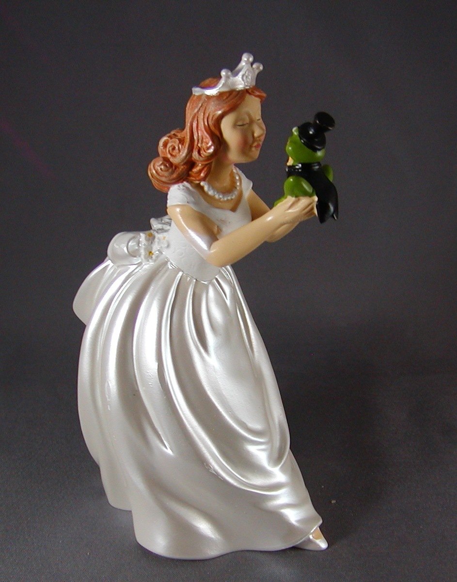 fairy wedding cake toppers princess and frog cake topper figurine fairytale wilton 14112