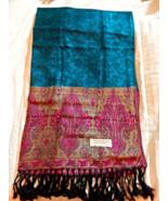 Luxurious Hand Woven 100% Silk Khmea Scarf (Krama) - $18.50