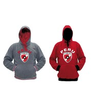 Peru Polyester Warm Fleece Hoodie Made in USA - $37.99