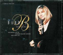 BARBRA STREISAND  * BARBRA THE CONCERT* 2 CD'S SET... LIVE AT MADISON SQ... - $4.49