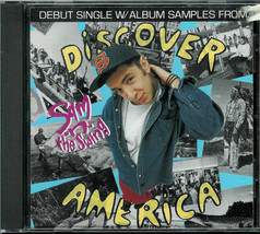 SAM -N- THE SWING * DEBUT SINGLE * WITH ALBUM SAMPLES FROM DISCOVER AMERICA - $2.50