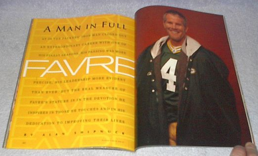 Sports IllustratedTribute Edition Brett Favre March 2008 Football