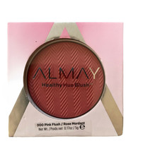 Almay Healthy Hue Blush 300 Pink Flush New/Sealed - $7.21