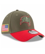 Tampa Bay Buccaneers New Era 39Thirty NFL Salute To Service S/M Flexfit ... - $32.40