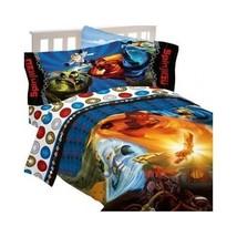 Twin Lego Ninjago Ninja Masters Kids Boys Reversible Comforter Bedspread... - $69.25