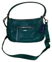 Coach Nwot: F23978 Daisy Leather Handbag Green ... - $125.00