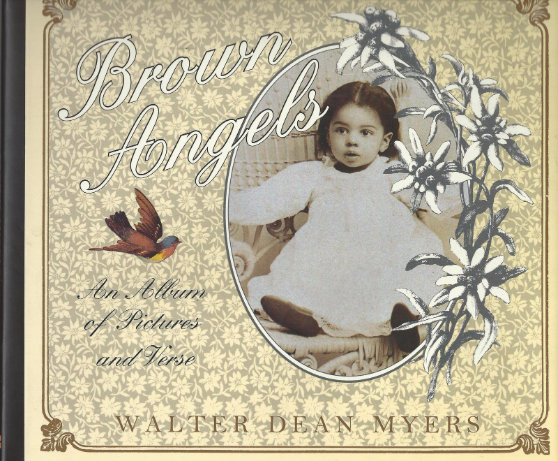 Brown Angels:An Album of Pictures and Verse by Walter Dean Myers-1993HCDJ-42 PIX