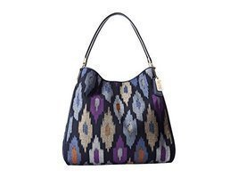 Coach Madison Phoebe Shoulder Bag In Ikat Print Canvas [Accessory] - £225.27 GBP