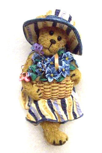 "Primary image for Boyds Bears ""Hanna Cabana"" -  Longaberger Exclusive- Basket Sitter-2009"