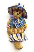 "Boyds Bears ""Hanna Cabana"" -  Longaberger Exclusive- Basket Sitter-2009 - $19.99"