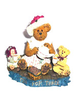 """Boyds Bearstone """"Trissy Teaberry & Friends"""" Longaberger Exclusive* #2277... - $39.99"""