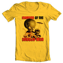 Invasion of the Saucer Men T-shirt vintage Sci Fi movie free shippin 100% cotton image 2