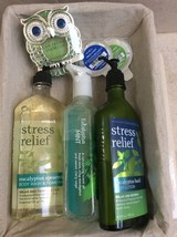 Bath Body Works Set: Aromatherapy Body Wash, Lotion, Hand Wash, Scentpor... - $45.00