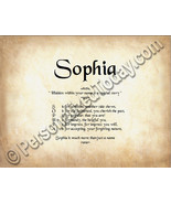 Sophia Hidden Within Your Name Is A Special Sto... - $8.95