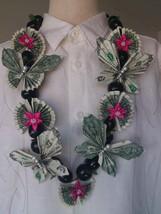 Money Lei / real dollar flower / Graduation lei - $69.00