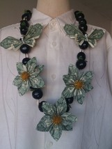 Money Lei / real dollar flower / Graduation lei - $69.00