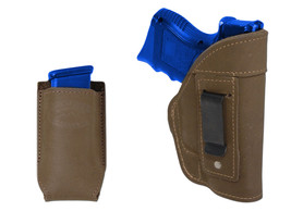 NEW Barsony Olive Drab Leather IWB Holster + Mag Pouch Sig-Sauer Compact 9mm 40 - $46.99