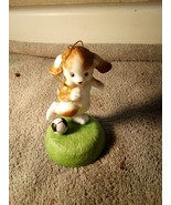 SOCCER  ORNAMENT--PUPPY -- CHRISTMAS --HANGING----FREE SHIP--NEW - $10.08