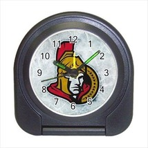 Ottawa Senators Compact Travel Alarm Clock (Battery Included) - NHL Hockey - $9.95