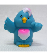 Fisher Price Little People BLUE BIRD from Animal Sounds Zoo Replacement ... - $3.50