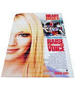 2004 RAISE YOUR VOICE Movie Vinyl Theater Banner 48x70 Hilary Duff (9) - $59.99