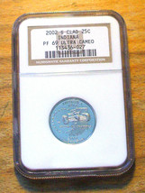 2002-S NGC - Proof 69 State Quarter ULTRA CAMEO - INDIANA - $19.95