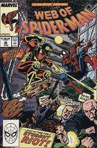 Marvel Web Of Spider Man (1985 Series) #56 Vf - $1.29