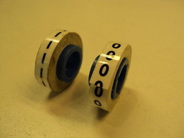 Panduit Pmdr 0 Pmdr 1 Wire Marker Tape 1 Roll Of Each New - $7.95