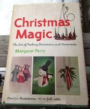 1964 Margaret Perry Book Christmas Magic Art of... - $3.00