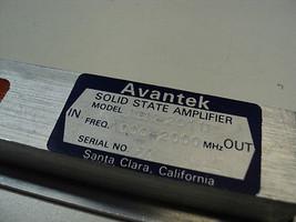 ABM-2011M ADVANTEK SOLID STATE AMPLIFIER 1-2 Ghz. 15VDC USED - $150.00