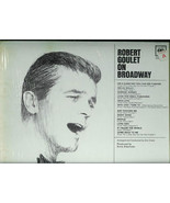 ROBERT  GOULET   * ON  BROADWAY *  L P - $2.99