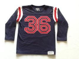 Oshkosh b'gosh boys long sleeve jersey style t-shirt - $5.50
