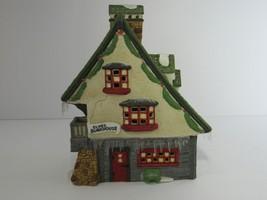 1990 Department 56 Heritage Village Collection Elf Bunkhouse w/ Light #5... - $18.78